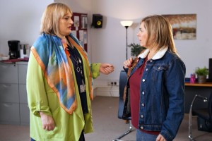 Myra meets Sally, and can't believe her eyes